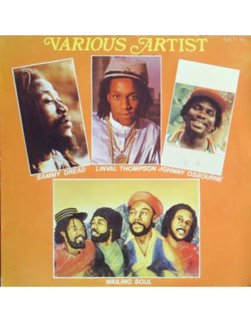 RG V/A - SAMMY DREAD, LINVAL THOMPSON, JOHNNY OSBOURNE, WAILING SOUL LP