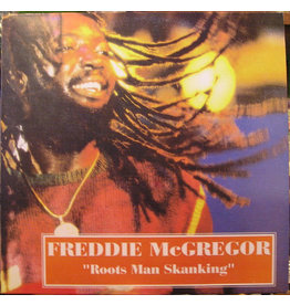 RG Freddie McGregor ‎– Roots Man Skanking LP