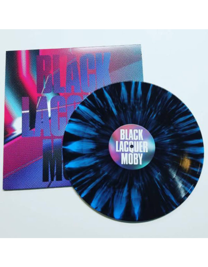HS Moby – Black Lacquer EP (2017), Limited Edition, Multicoloured Splatter