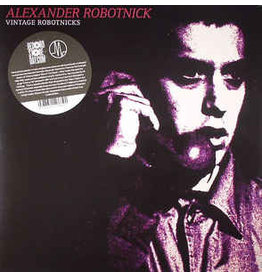 DC RSD- Alexander Robotnick ‎– Vintage Robotnicks  LP (2014 Compilation), Blue-Purple-Clear 180gr.