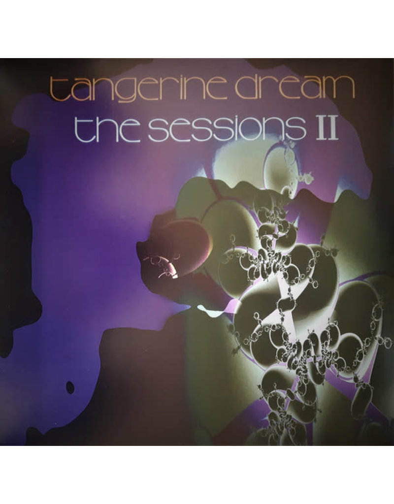 Tangerine Dream ‎– The Sessions II 2LP (2020 Reissue), Purple Vinyl