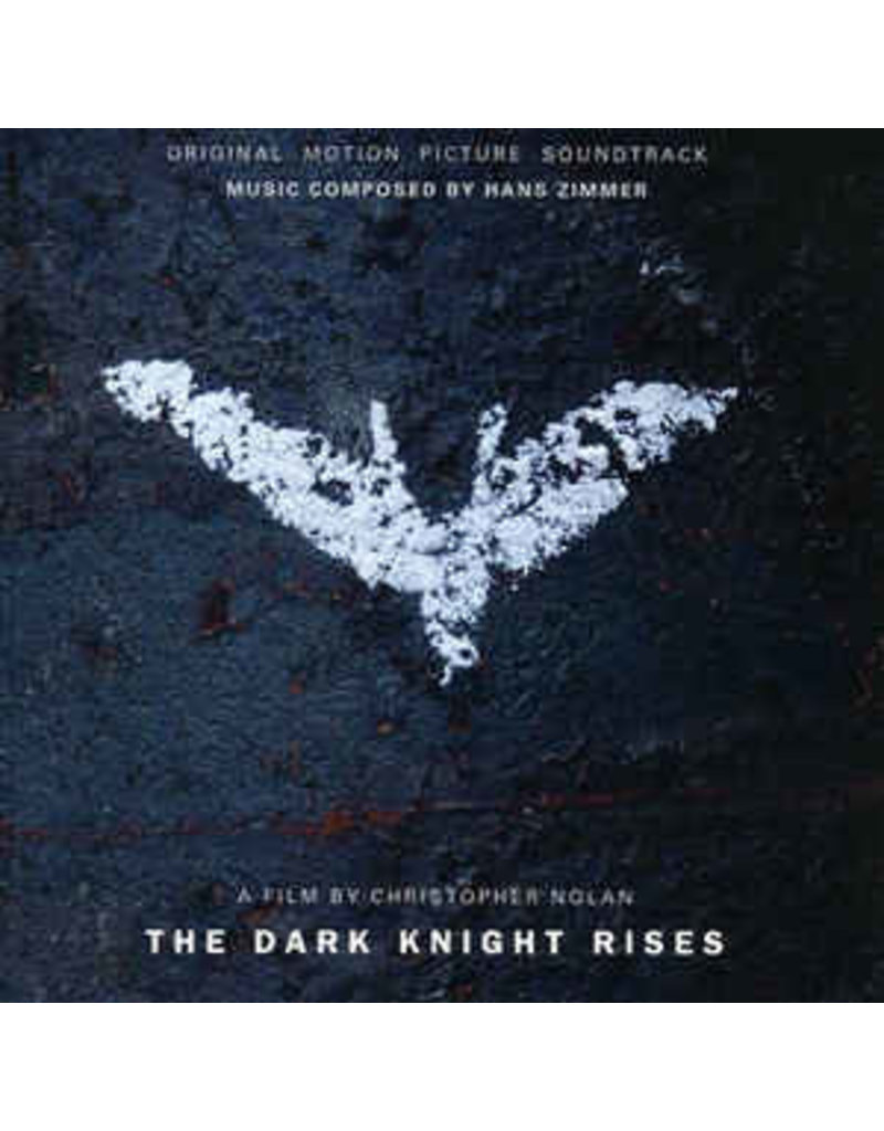 Hans Zimmer ‎– The Dark Knight Rises OST LP (2020 Reissue), Deluxe,Limited, Numbered, Reissue, Clear, Blue & Red Marble (Music On Vinyl)