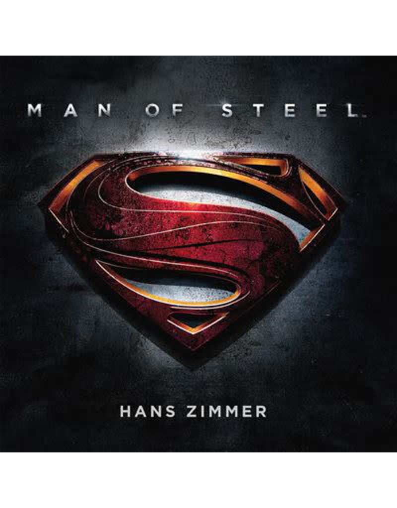 Hans Zimmer ‎– Man Of Steel OST 2LP (2020), Numbered, Red Translucent (Music On Vinyl)