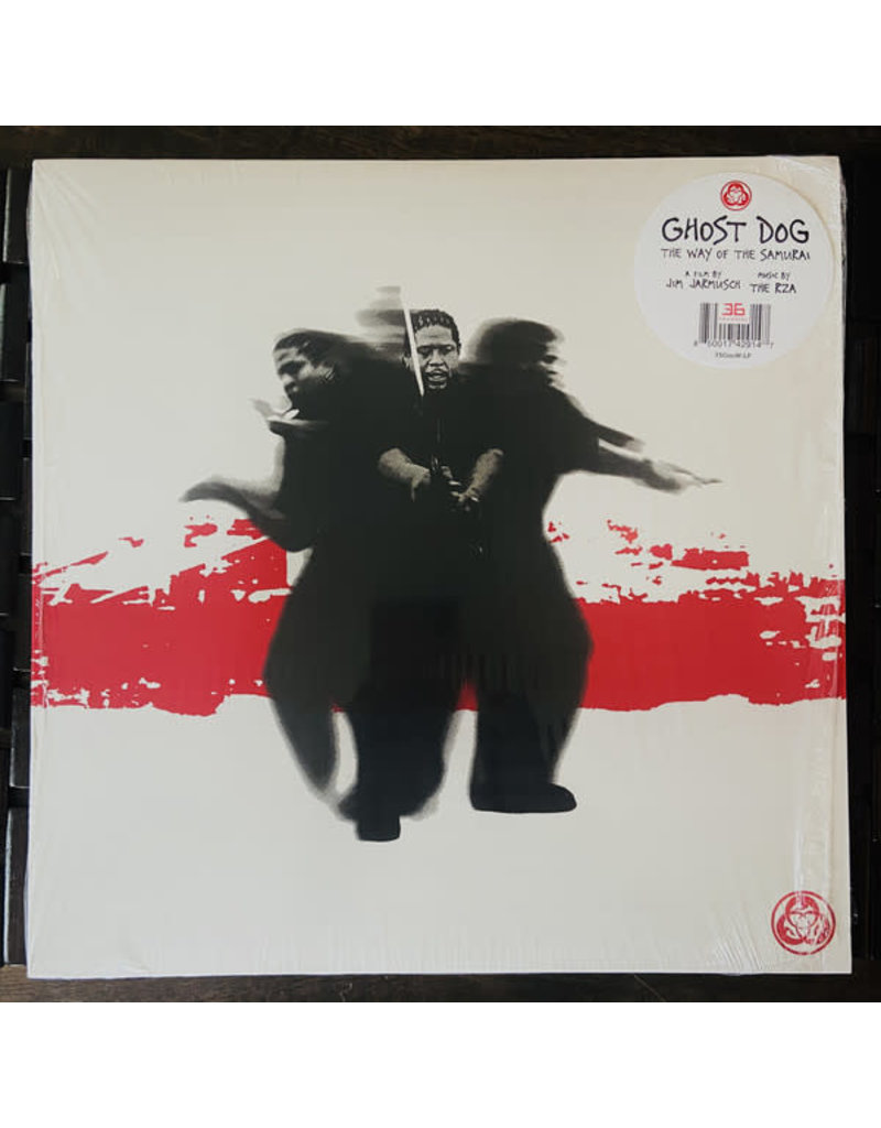 RZA - ‎– Ghost Dog: The Way Of The Samurai LP (2020), Limited WHITE
