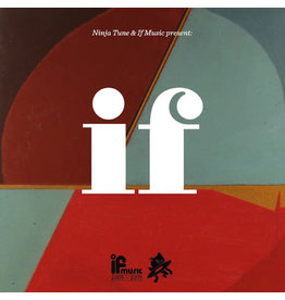 Various – Ninja Tune & If Music Present: If (If Music Is 10) 2LP (2013 Compilation), Limited Edition