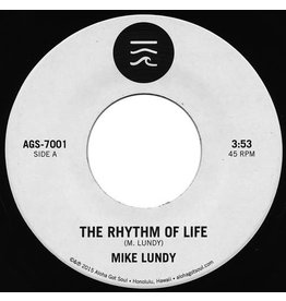 "FS Mike Lundy ‎– The Rhythm Of Life / Tropic Lightning 7"" (2015) w/ Postcard Picture Print"