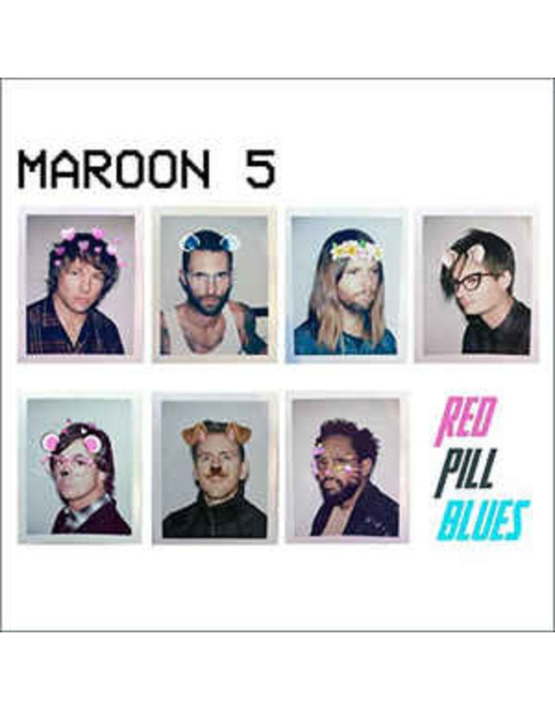 RK Maroon 5 – Red Pill Blues LP (2018), White Vinyl
