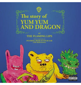 """RK/IN The Flaming Lips – The Story Of Yum Yum And Dragon 7"""" [RSD2018], Limited Edition, Pink Opaque"""