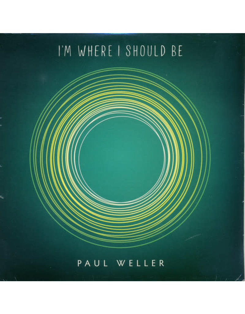"RK Paul Weller ‎– I'm Where I Should Be 7"" (2015)"