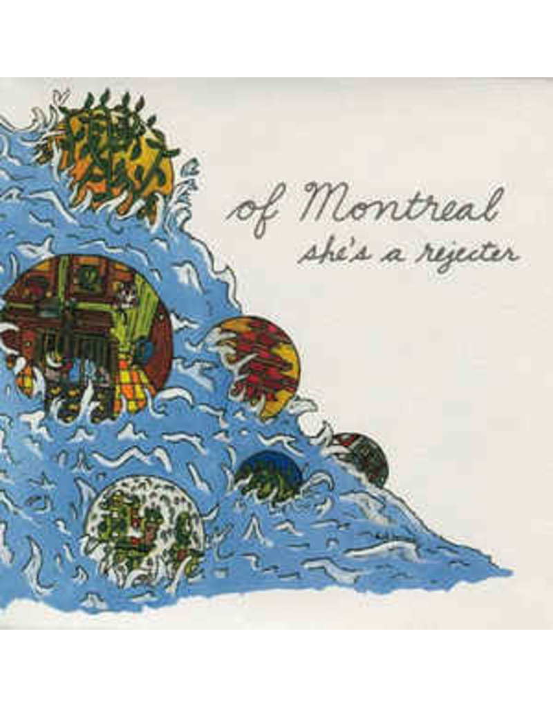 """RK of Montreal – She's A Rejecter 7"""""""