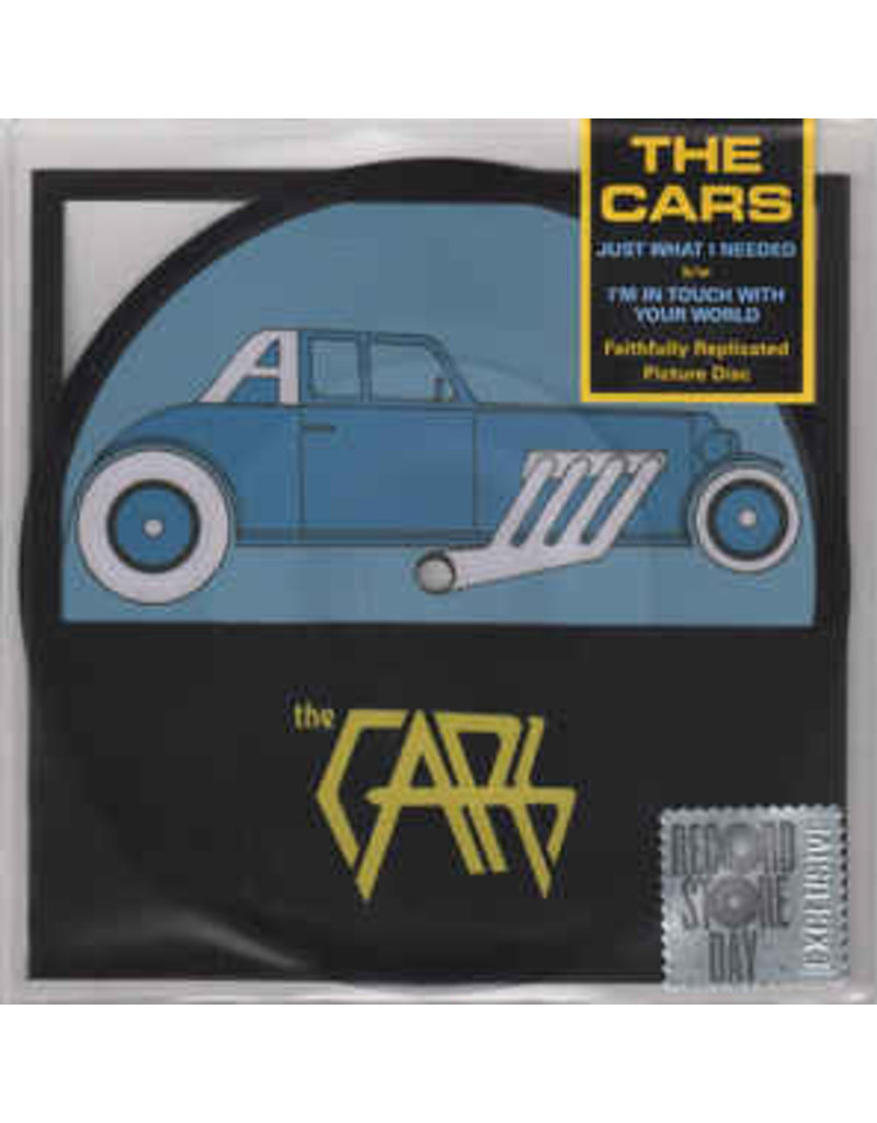 """RK The Cars – Just What I Needed b/w I'm In Touch With Your World 7"""" [RSDBF2016], Picture Disc"""