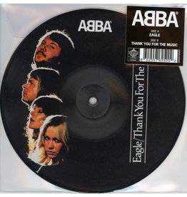 "PO ABBA ‎– Eagle / Thank You For The Music 7"" (Picture Disc)"