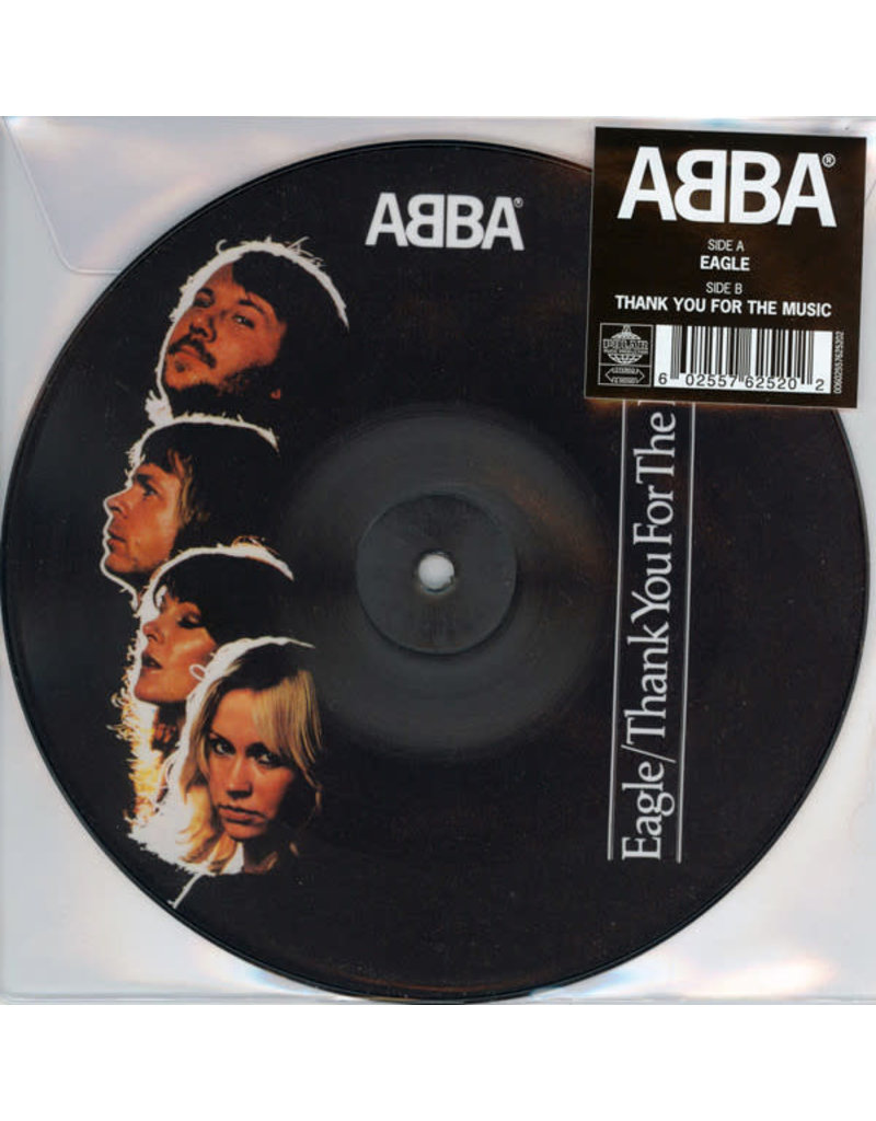 """PO ABBA – Eagle / Thank You For The Music 7"""" (Picture Disc)"""