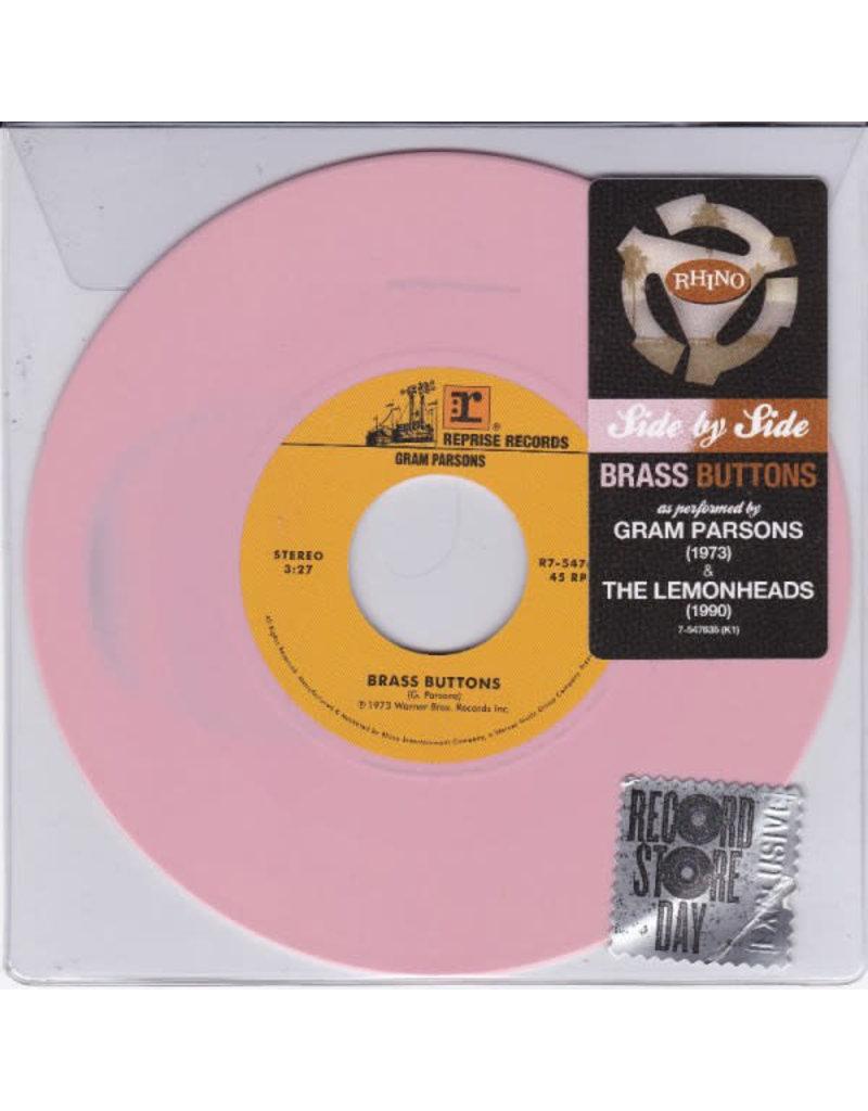 "RK Gram Parsons / The Lemonheads – Brass Buttons 7"" [RSD2015]"