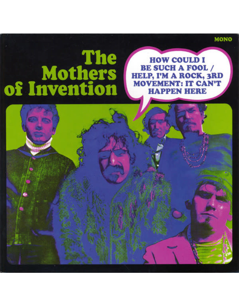 """RK FRANK ZAPPA The Mothers Of Invention – How Could I Be Such A Fool 7"""" [RSD2016]"""