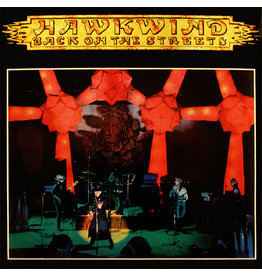 """N/A Hawkwind – Back On The Streets 7"""""""