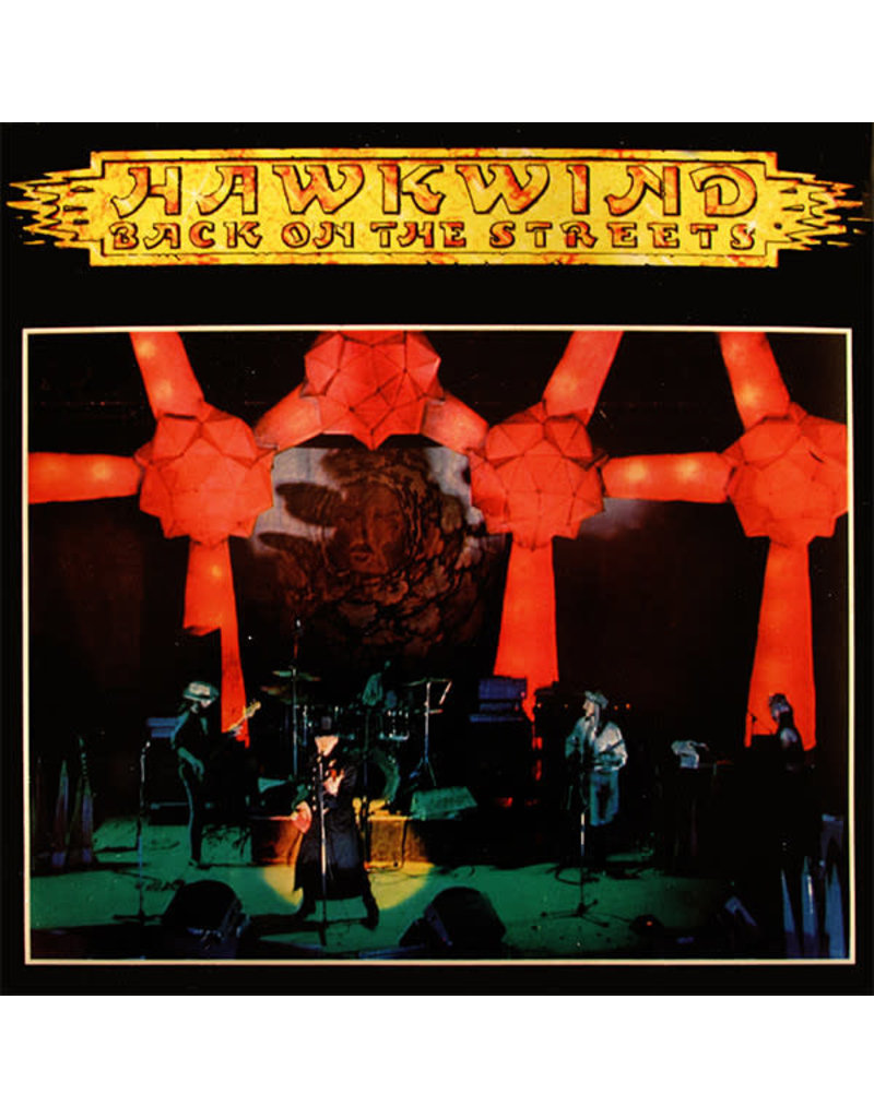 """Hawkwind – Back On The Streets 7"""""""
