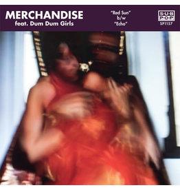 """IN Merchandise Featuring Dum Dum Girls – Red Sun / Echo 7"""""""