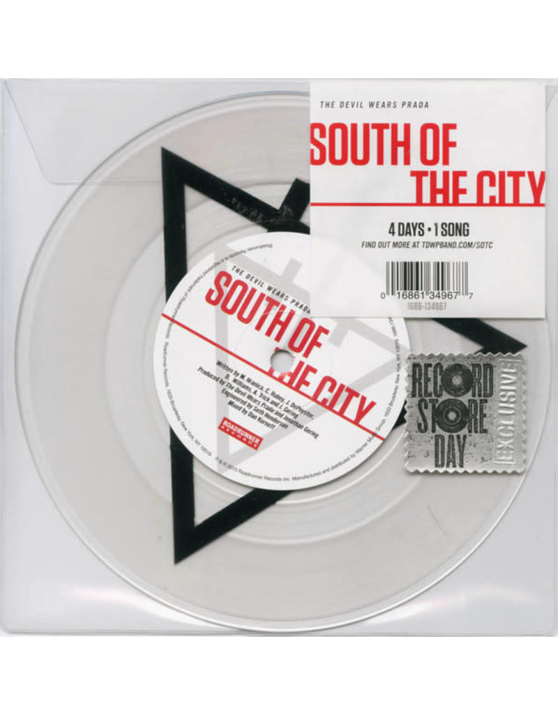 "RK The Devil Wears Prada – South Of The City 7"""