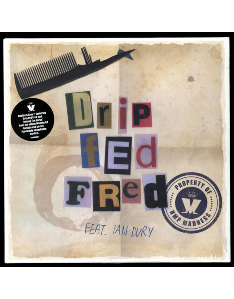 "RK Madness Feat. Ian Dury – Drip Fed Fred 7"" [RSD2017]"