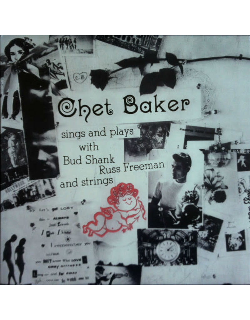 JZ Chet Baker ‎– Sings And Plays With Bud Shank, Russ Freeman And Strings LP