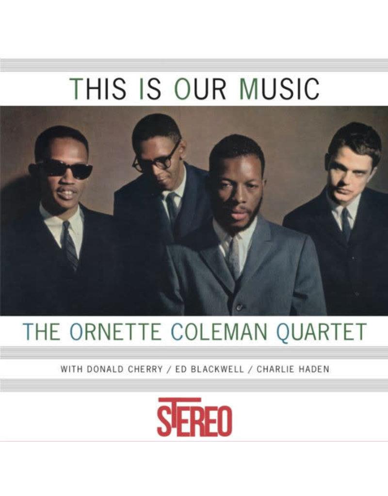 JZ The Ornette Coleman Quartet – This Is Our Music LP