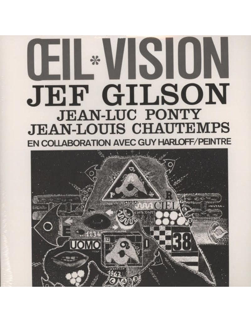 JZ Jef Gilson - Jean-Luc Ponty - Jean-Louis Chautemps – Œil Vision LP (Reissue)