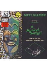 JZ Dizzy Gillespie Featuring Lalo Schifrin – A Musical Safari (Live At The 1961 Monterey Jazz Festival) LP