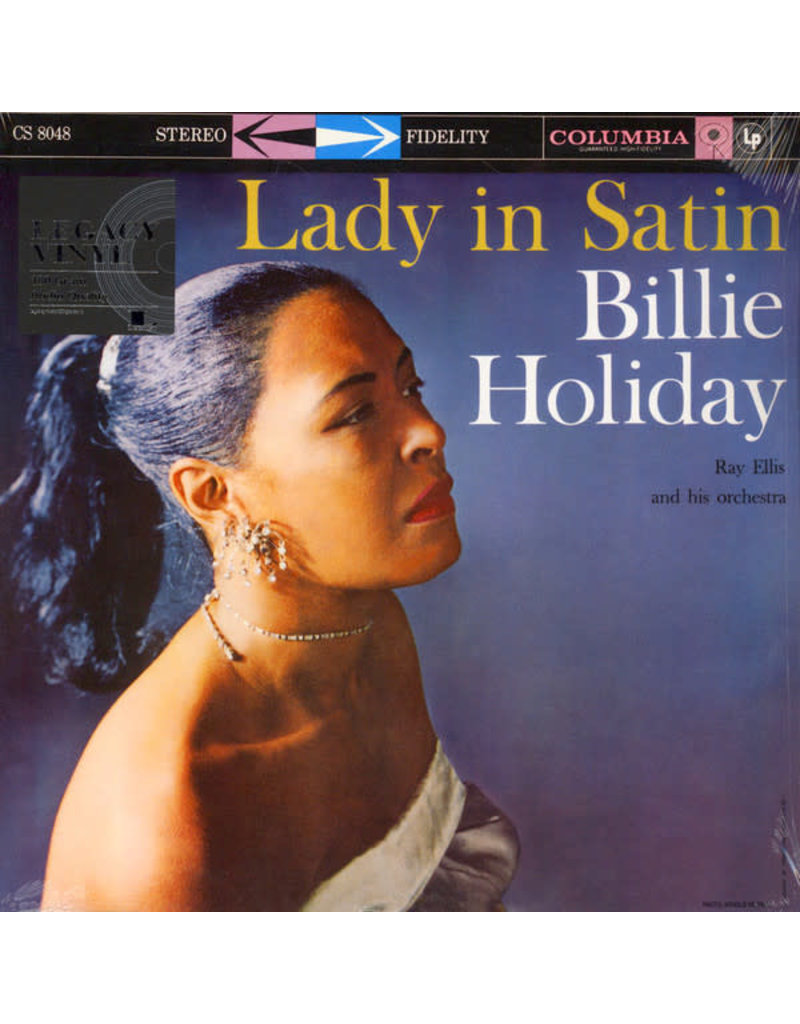 Billie Holiday With Ray Ellis And His Orchestra – Lady In Satin LP