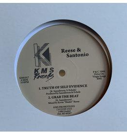 "Reese & Santonio – Truth Of Self Evidence (Clear Vinyl) 12"""