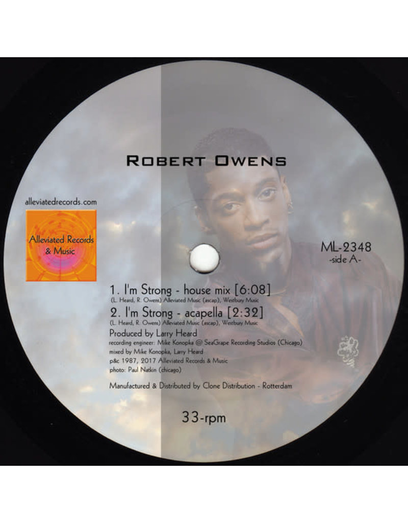 Robert Owens / Mr. Fingers ‎– I'm Strong 12""