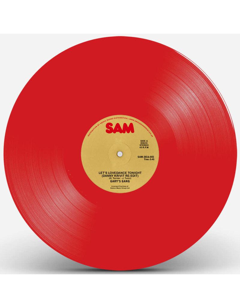 """Gary's Gang – Let's Lovedance Tonight (Danny Krivit Re-Edit) [Red Vinyl] 12"""""""