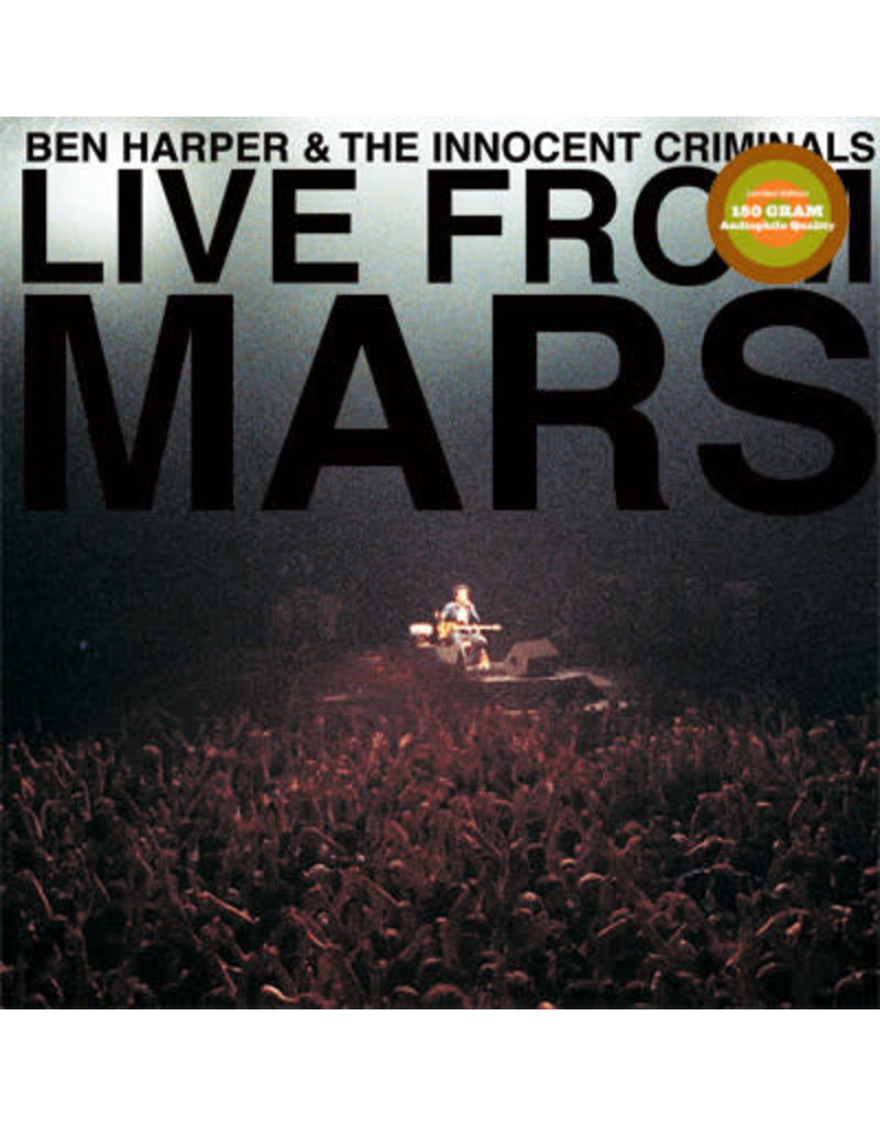 Ben Harper & The Innocent Criminals ‎– Live From Mars 4LP
