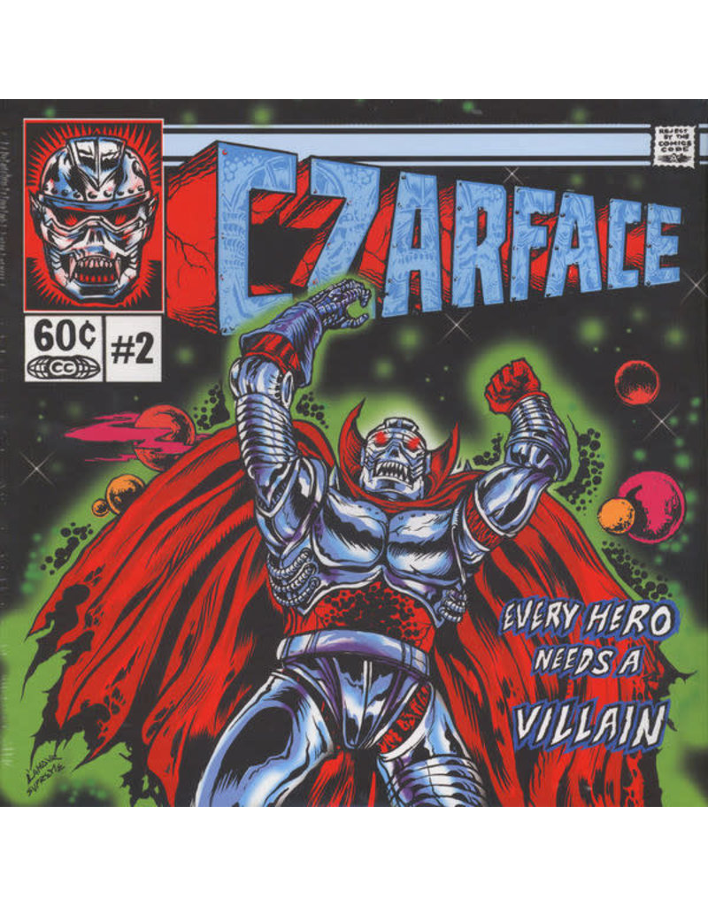 HH Czarface ‎– Every Hero Needs A Villain 2LP