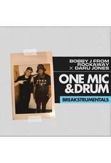 Bobby J From Rockaway x Daru Jones - One Mic and Drum Breakstrumentals LP