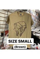 MF Doom T-Shirt (Brown) (SMALL)