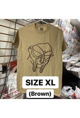 MF Doom T-Shirt (Brown) (XL)