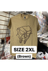 MF Doom T-Shirt (Brown) (2XL)