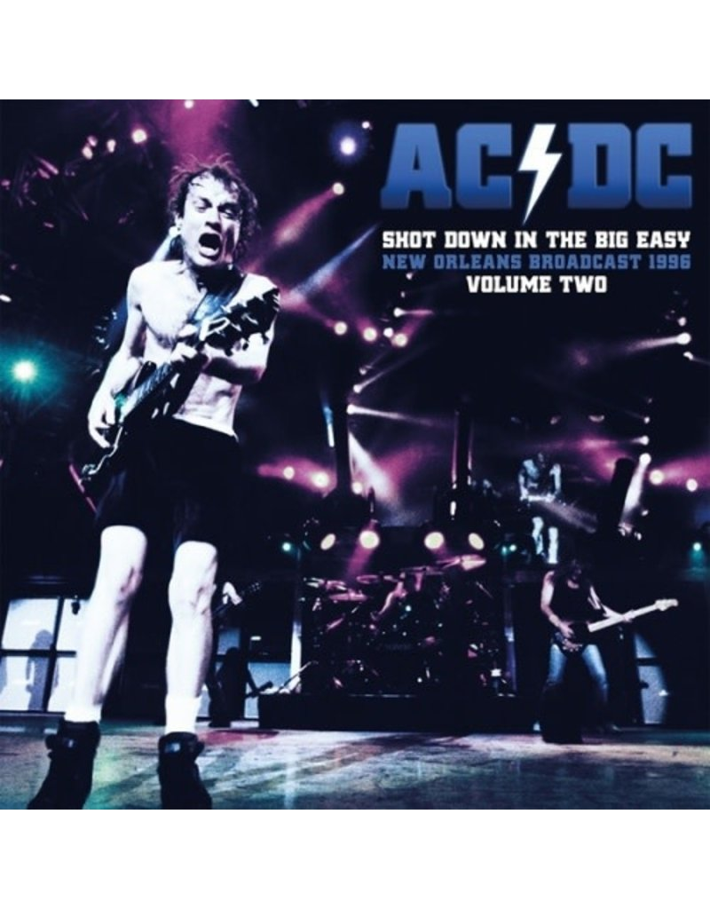 AC/DC - Shot Down In The Big Easy Vol.  Two 2LP (2021), Clear Vinyl