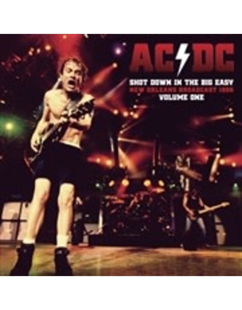 AC/DC - Shot Down In The Big Easy Vol. One 2LP (2021), Clear Vinyl