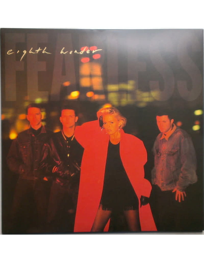 EL Eighth Wonder – Fearless 2LP (2018), Limited Edition, Numbered, Red Vinyl
