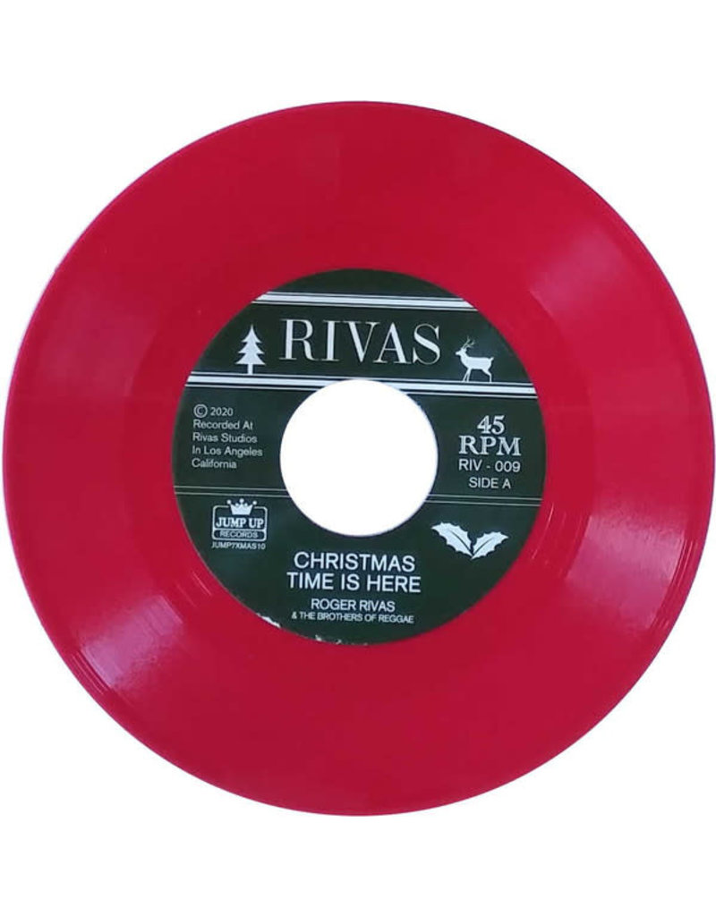 """Roger Rivas & The Brothers Of Reggae – Christmas Time Is Here / Linus & Lucy 7"""""""