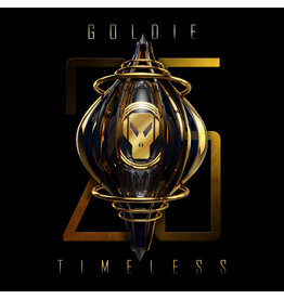 "Goldie - Timeless (Gold Vinyl/25th Anniversay Edition) 3x12"" [PRE-ORDER/04-09-2021]"