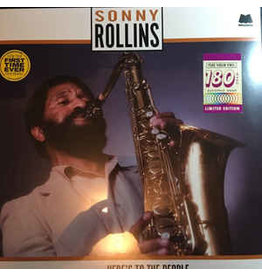 JZ Sonny Rollins – Here's To The People LP (2015 Reissue)
