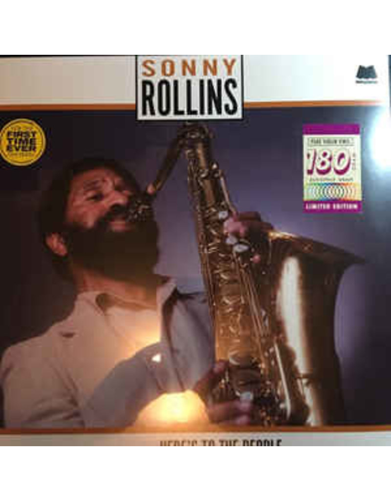 JZ Sonny Rollins ‎– Here's To The People LP (2015 Reissue)