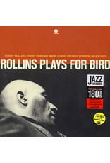 JZ Sonny Rollins Quintet With Kenny Dorham And Max Roach – Rollins Plays For Bird LP