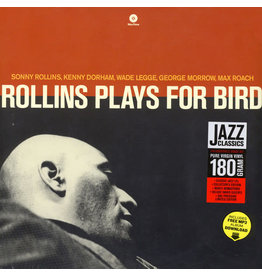 JZ Sonny Rollins Quintet With Kenny Dorham And Max Roach ‎– Rollins Plays For Bird LP
