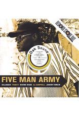 "RG Dillinger, Trinity , Al Campbell, Wayne Wade, Junior Tamlin – Five Man Army 12"" (2014 Remastered)"