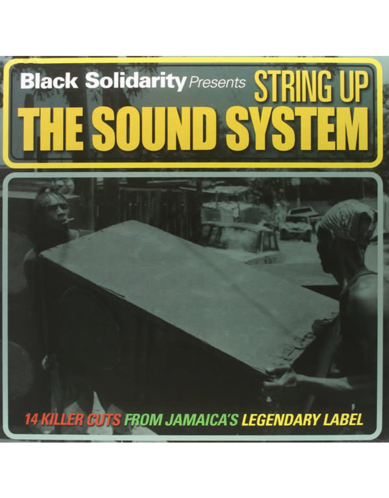 RG Various – Black Solidarity Presents String Up The Sound System LP