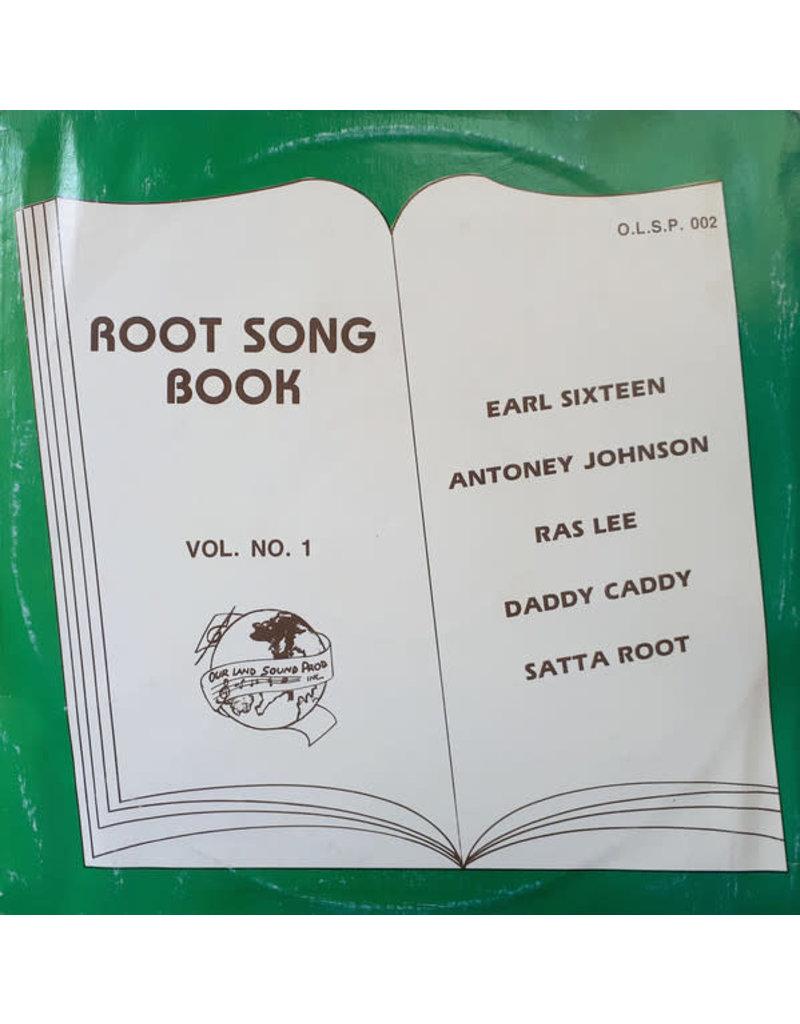 RG Earl Sixteen, Antoney Johnson, Ras Lee, Daddy Caddy, Satta Root – Root Song Book Vol. No. 1 LP, Compilation